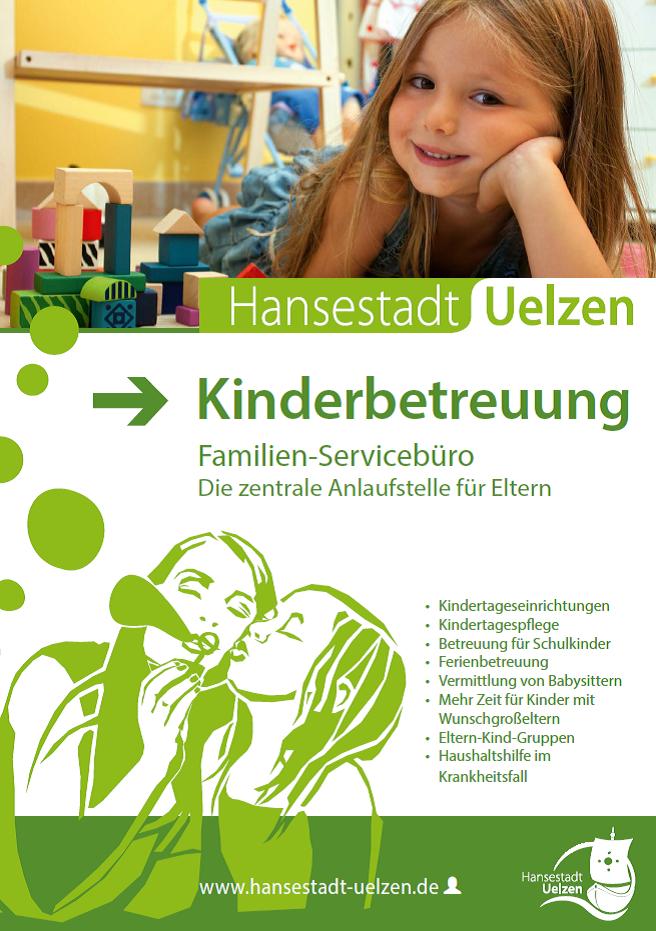 Titel Broschüre Kinderbetreuung