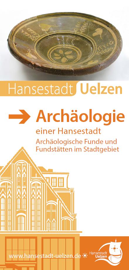 Titel Faltblatt Archäologie