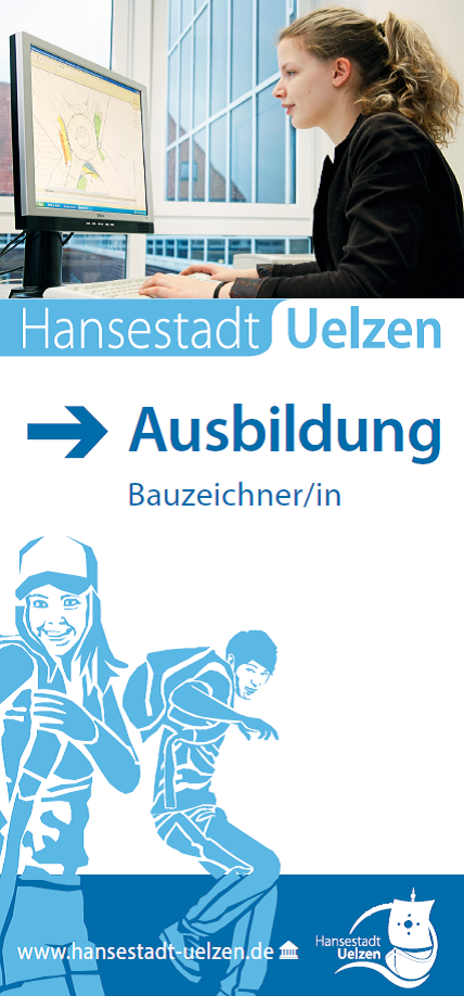 Titel Faltblatt Bauzeichner