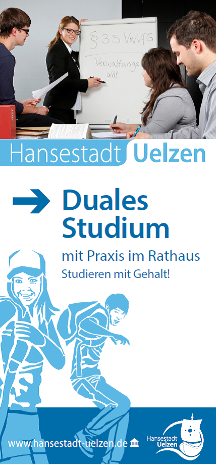 Titel Faltblatt Duales Studium