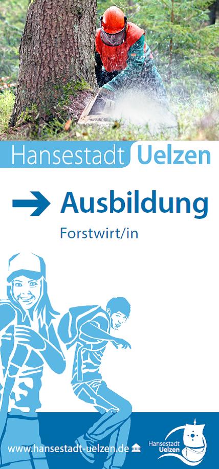 Titel Faltblatt Forstwirt