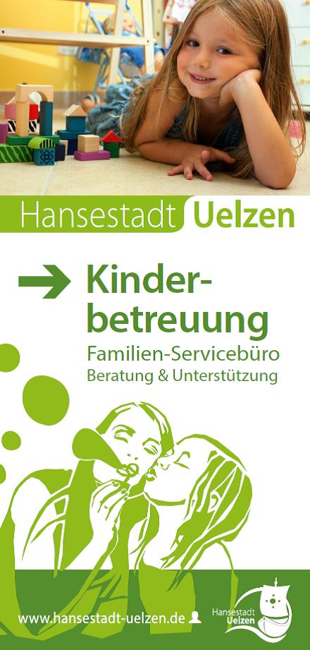 Titel Faltblatt Kinderbetreuung