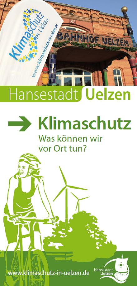 Titel Faltblatt Klimaschutz