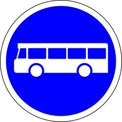 Busschild