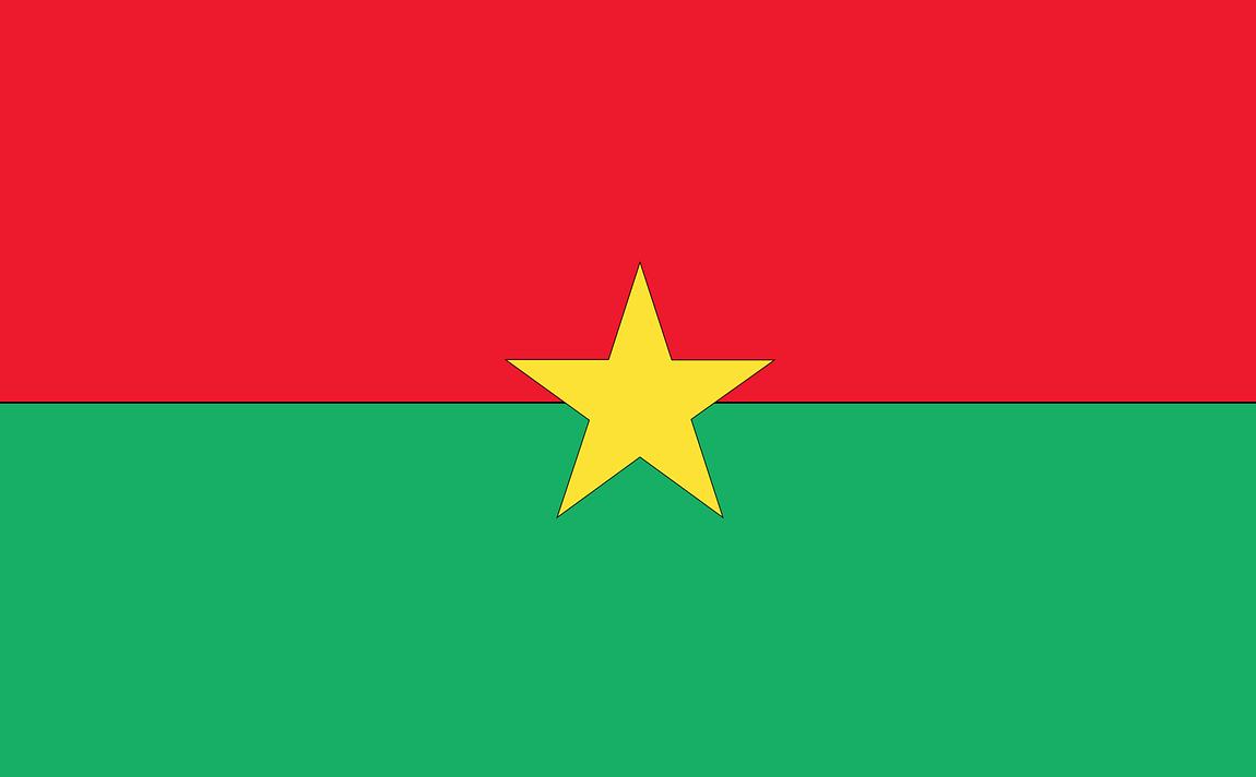 Flagge Burkina Faso