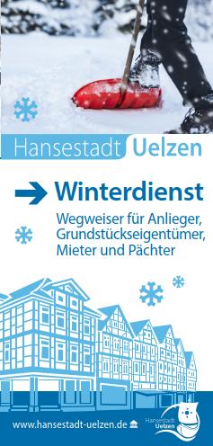 Titel Faltblatt Winterdienst