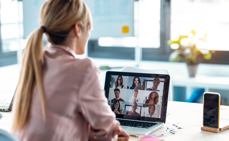 Videokonferenz_Stockfoto