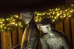 Der Uhlenköper bei Nacht