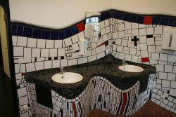 Toilette im Bahnhof
